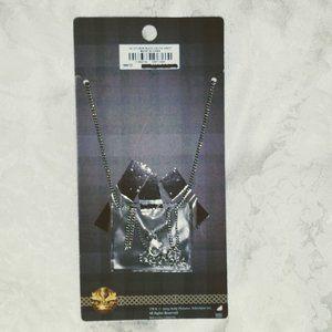 torrid Jewelry - Vintage Torrid Outlander Stag necklace Faux Amber